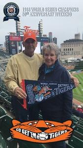 John attended Detroit Tigers vs. St. Louis Cardinals - MLB on Sep 9th 2018 via VetTix
