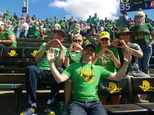 Jesse attended Oregon Ducks vs. Portland State University - NCAA Football on Sep 8th 2018 via VetTix