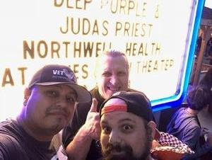 William attended Deep Purple & Judas Priest - Pop on Sep 1st 2018 via VetTix