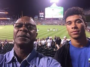 Maurice attended Colorado Rockies vs San Francisco Giants - MLB on Sep 4th 2018 via VetTix