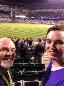 Shawn attended Colorado Rockies vs San Francisco Giants - MLB on Sep 4th 2018 via VetTix
