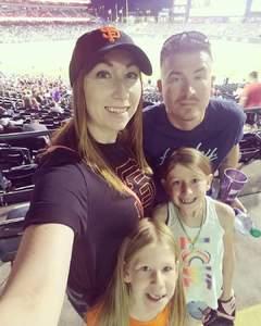 Brandon attended Colorado Rockies vs San Francisco Giants - MLB on Sep 4th 2018 via VetTix
