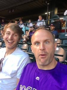 Andrew attended Colorado Rockies vs San Francisco Giants - MLB on Sep 5th 2018 via VetTix