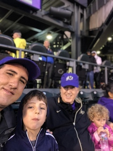 Gregory attended Colorado Rockies vs San Francisco Giants - MLB on Sep 5th 2018 via VetTix
