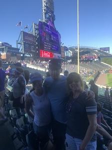 William attended Colorado Rockies vs Arizona Diamondbacks - MLB on Sep 13th 2018 via VetTix