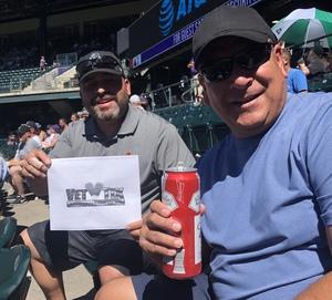 Ray attended Colorado Rockies vs Arizona Diamondbacks - MLB on Sep 13th 2018 via VetTix