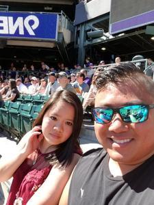 Thanhphong Vu attended Colorado Rockies vs Arizona Diamondbacks - MLB on Sep 13th 2018 via VetTix