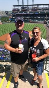 Jerry attended Colorado Rockies vs Arizona Diamondbacks - MLB on Sep 13th 2018 via VetTix