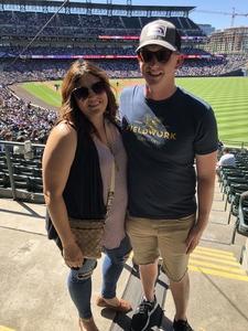 Josh Hill attended Colorado Rockies vs Arizona Diamondbacks - MLB on Sep 13th 2018 via VetTix