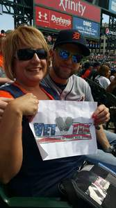 Robert attended Detroit Tigers vs. Kansas City Royals - MLB on Sep 21st 2018 via VetTix