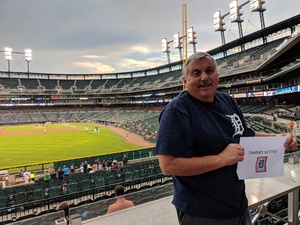 Michael attended Detroit Tigers vs. Kansas City Royals - MLB on Sep 21st 2018 via VetTix
