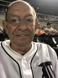 Jerry E attended Detroit Tigers vs. Kansas City Royals - MLB on Sep 23rd 2018 via VetTix