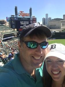 Adam attended Detroit Tigers vs. Kansas City Royals - MLB on Sep 23rd 2018 via VetTix