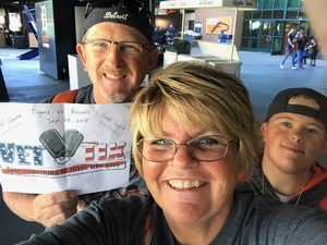 Ronald attended Detroit Tigers vs. Kansas City Royals - MLB on Sep 23rd 2018 via VetTix