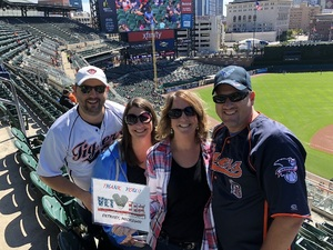 Mark attended Detroit Tigers vs. Kansas City Royals - MLB on Sep 23rd 2018 via VetTix