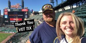 Ross attended Detroit Tigers vs. Kansas City Royals - MLB on Sep 23rd 2018 via VetTix