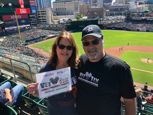 David attended Detroit Tigers vs. Kansas City Royals - MLB on Sep 23rd 2018 via VetTix
