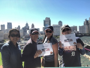 Russell attended Detroit Tigers vs. Kansas City Royals - MLB on Sep 23rd 2018 via VetTix
