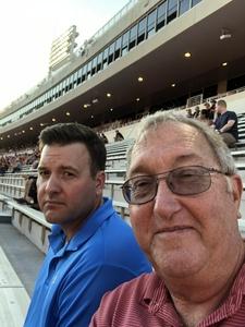 Larry attended Oklahoma State University Cowboys vs. Missouri State - NCAA Football on Aug 30th 2018 via VetTix