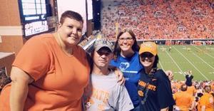 Shane attended Oklahoma State University Cowboys vs. Missouri State - NCAA Football on Aug 30th 2018 via VetTix
