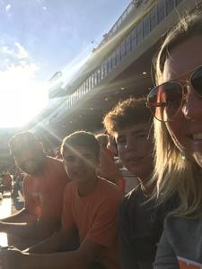 Brian attended Oklahoma State University Cowboys vs. Missouri State - NCAA Football on Aug 30th 2018 via VetTix