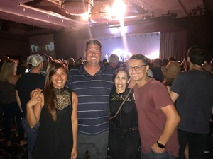 Herbert attended 3 Doors Down and Collective Soul on Sep 8th 2018 via VetTix