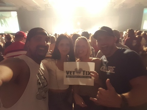 Tricia attended 3 Doors Down and Collective Soul on Sep 8th 2018 via VetTix