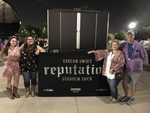Eric attended Taylor Swift Reputation Stadium Tour - Pop on Oct 5th 2018 via VetTix