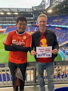 Patrick attended New York Red Bulls vs. Orlando City SC - MLS on Oct 28th 2018 via VetTix