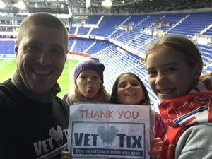 Mark attended New York Red Bulls vs. Orlando City SC - MLS on Oct 28th 2018 via VetTix