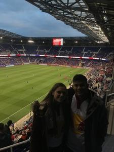 Vincent attended New York Red Bulls vs. Orlando City SC - MLS on Oct 28th 2018 via VetTix