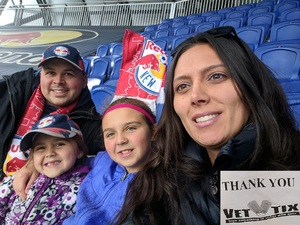 Rafal attended New York Red Bulls vs. Orlando City SC - MLS on Oct 28th 2018 via VetTix