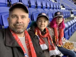 Jeffrey attended New York Red Bulls vs. Orlando City SC - MLS on Oct 28th 2018 via VetTix