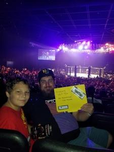Joseph attended Pfl 8 - Playoffs - Live Mixed Martial Arts - Presented by Professional Fighters League on Oct 5th 2018 via VetTix