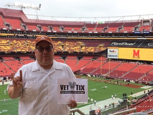Terry attended Texas Longhorns vs. Maryland Terrapins - NCAA Football on Sep 1st 2018 via VetTix