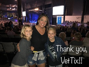 Christina attended Lady Antebellum & Darius Rucker Summer Plays on Tour on Sep 15th 2018 via VetTix