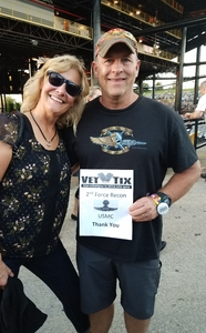 John attended Lady Antebellum & Darius Rucker Summer Plays on Tour on Sep 15th 2018 via VetTix
