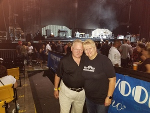 Chris attended Lady Antebellum & Darius Rucker Summer Plays on Tour on Sep 15th 2018 via VetTix