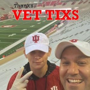 Michael attended Indiana Hoosiers vs Virginia Cavaliers - NCAA Football on Sep 8th 2018 via VetTix