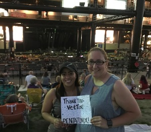 Timothy attended Pentatonix - Pop on Sep 16th 2018 via VetTix