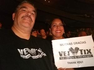 Rafael attended Sugarland - Country on Sep 8th 2018 via VetTix