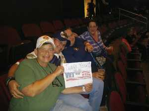 Gina - USMC attended Sugarland - Country on Sep 8th 2018 via VetTix