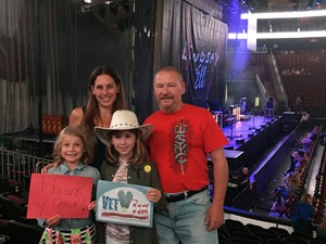 Ronald attended Sugarland - Country on Sep 8th 2018 via VetTix