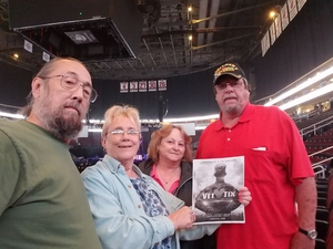 Richard attended Sugarland - Country on Sep 8th 2018 via VetTix