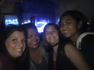 Bobby attended Evanescence + Lindsey Stirling - Alternative Rock on Aug 31st 2018 via VetTix