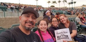 Juan attended Evanescence + Lindsey Stirling - Alternative Rock on Aug 31st 2018 via VetTix