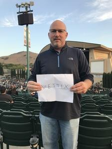 Christopher attended Evanescence + Lindsey Stirling - Alternative Rock on Aug 31st 2018 via VetTix