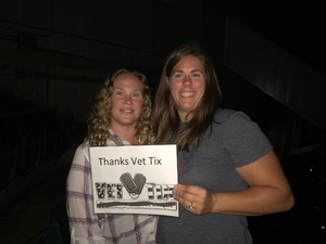 Kimberly attended Sugarland - Country on Sep 7th 2018 via VetTix