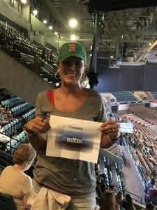 Kasey attended Sugarland - Country on Sep 7th 2018 via VetTix