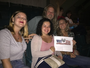 Mark attended Sugarland - Country on Sep 7th 2018 via VetTix